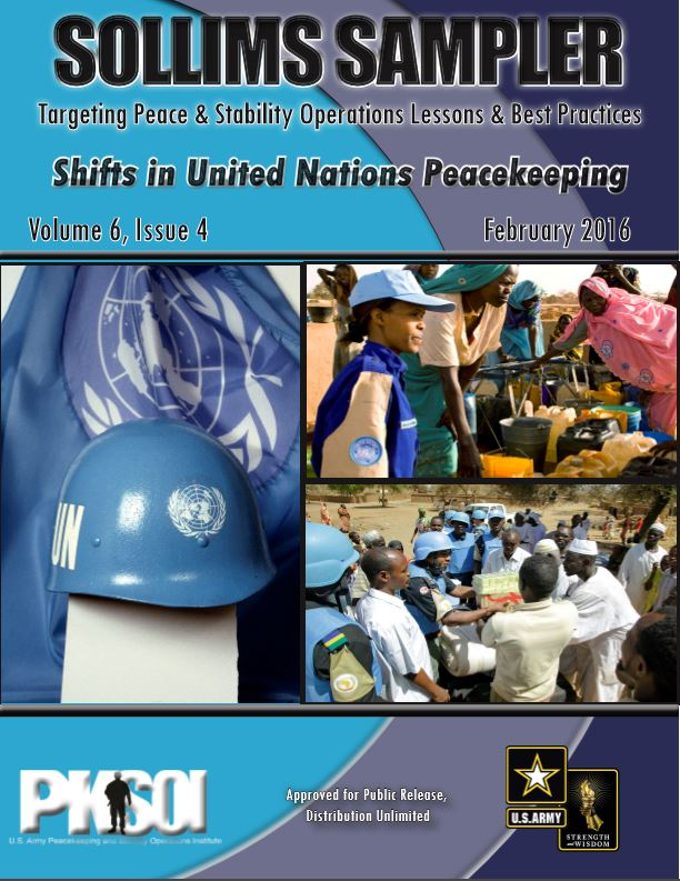 SOLLIMS Sampler (Feb. 2016) - Shifts in United Nations Peacekeeping