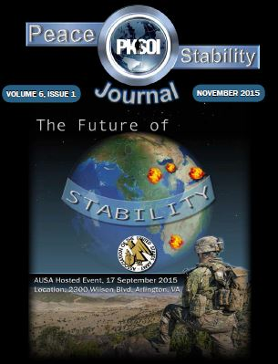 Peace & Stability Journal, Volume 6, Issue 1