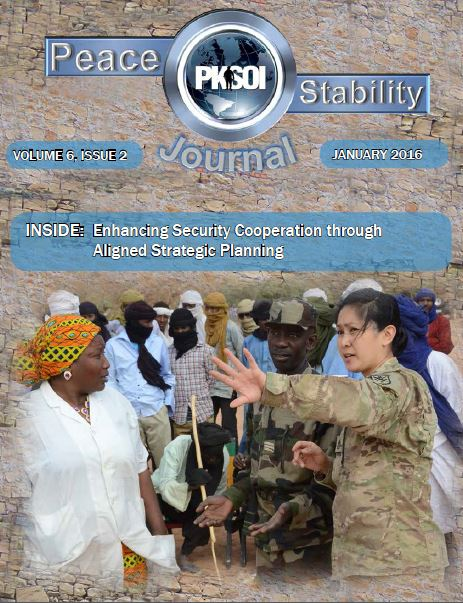 Peace & Stability Journal, Volume 6, Issue 2