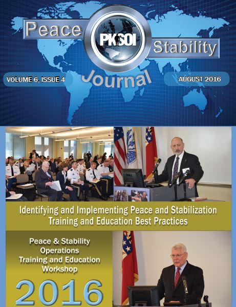 Peace & Stability Journal, Volume 6, Issue 4