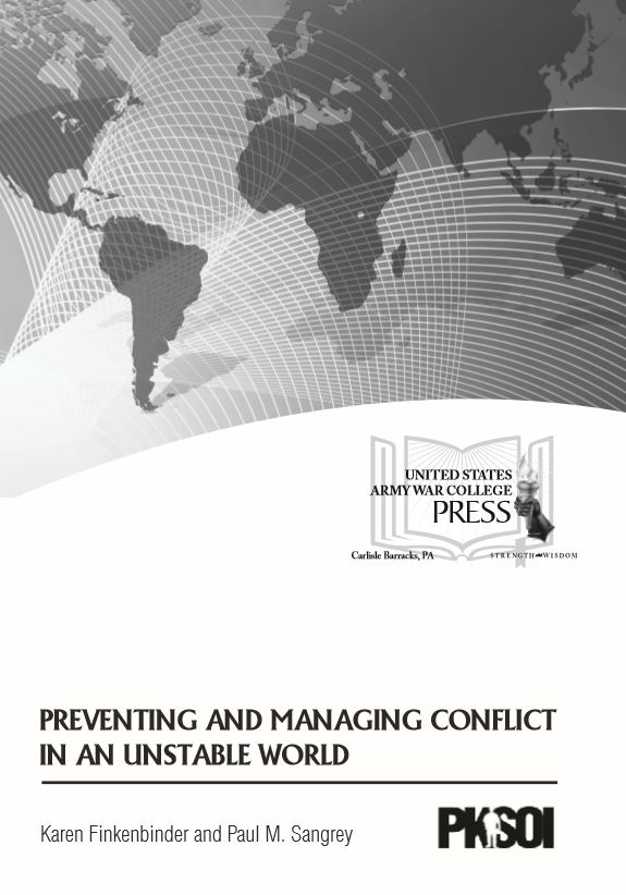 Preventing and Managing Conflict in an Unstable World
