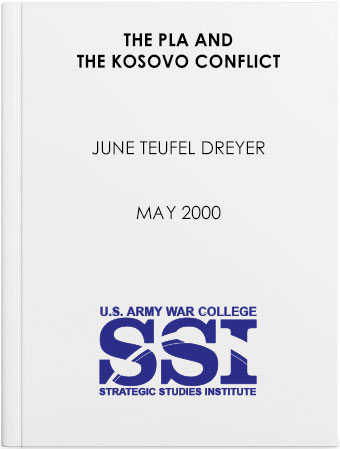 The PLA and the Kosovo Conflict
