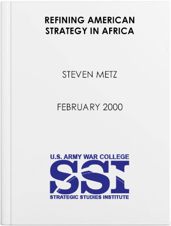 Refining American Strategy in Africa