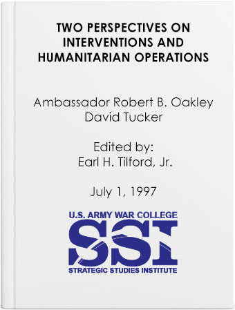 Two Perspectives on Interventions and Humanitarian Operations