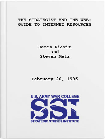The Strategist and the Web: Guide to Internet Resources