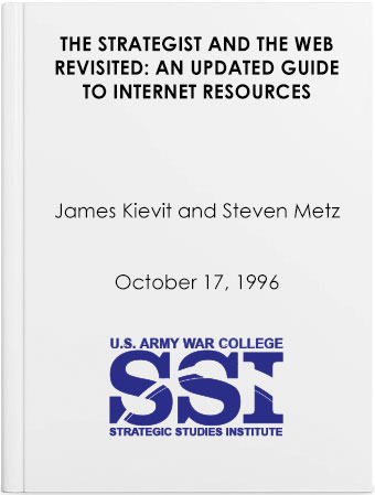 The Strategist and the Web Revisited: An Updated Guide to Internet Resources