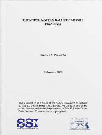 The North Korean Ballistic Missile Program