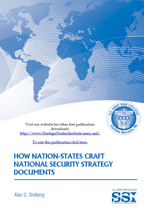 How Nation-States Craft National Security Strategy Documents