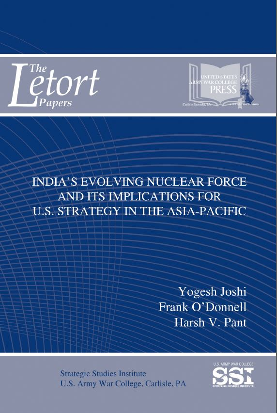 India's Evolving Nuclear Force and Implications for U.S. Strategy in the Asia-Pacific