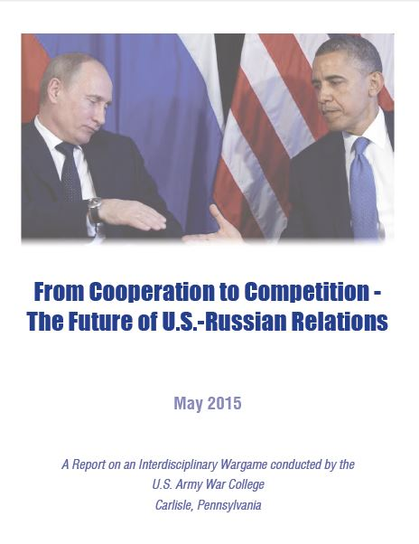 From Cooperation to Competition - The Future of U.S.-Russian Relations