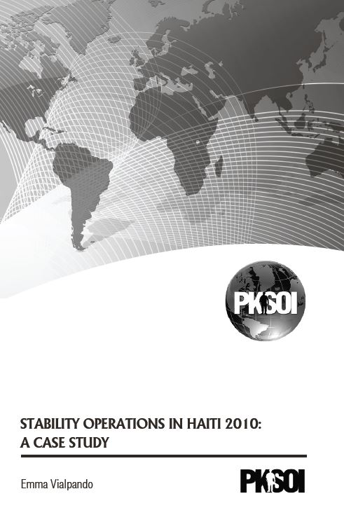 Stability Operations in Haiti 2010: A Case Study