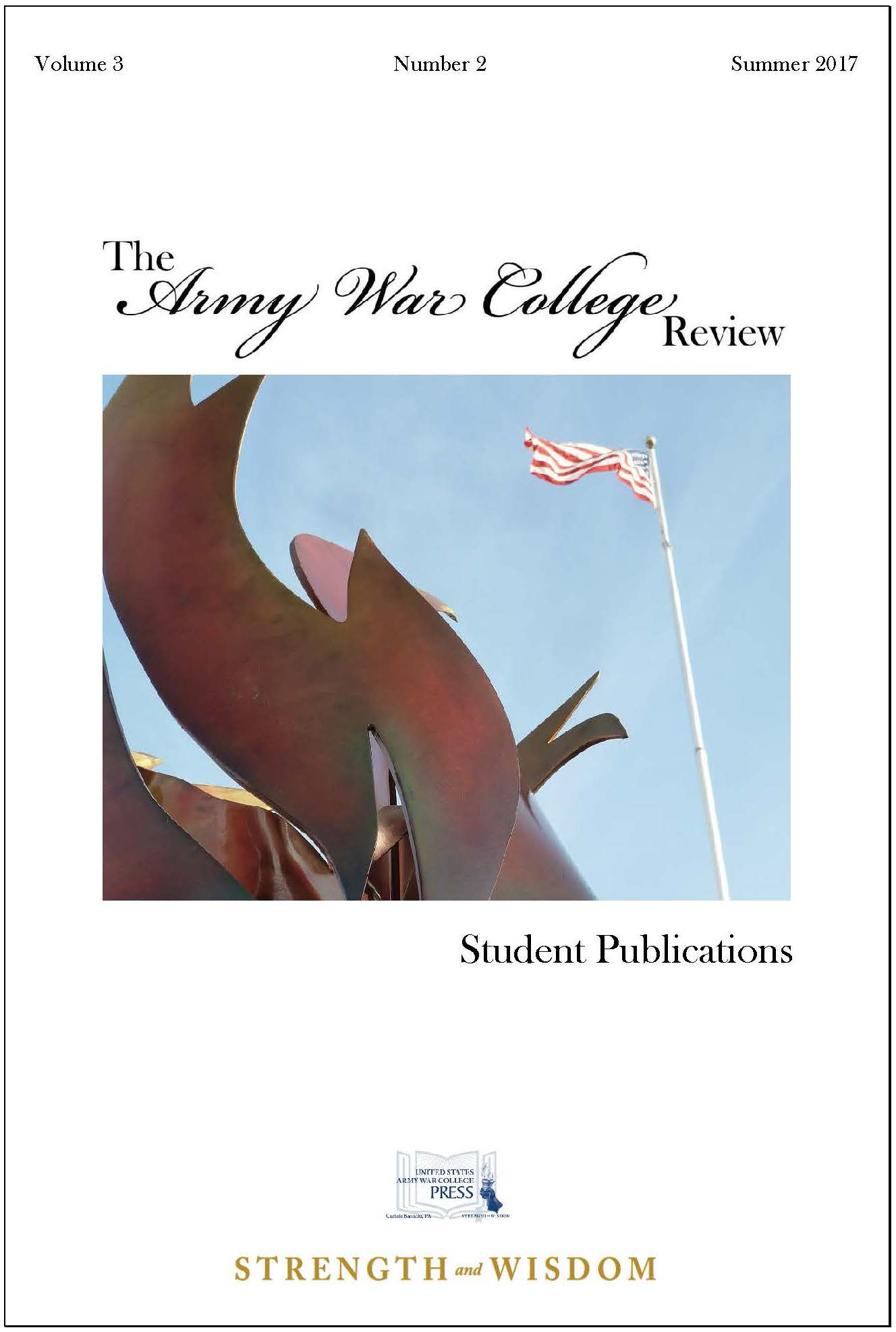 The Army War College Review Vol. 3 No. 2