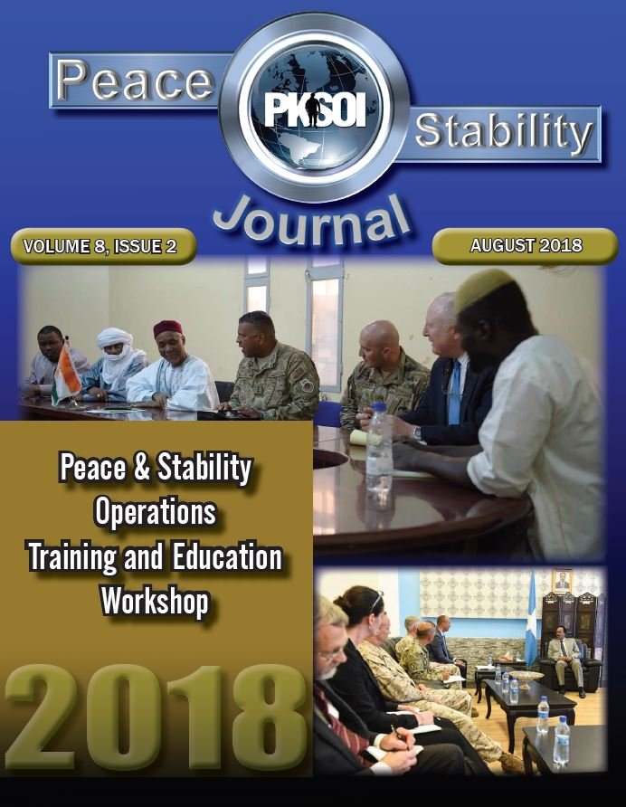Peace & Stability Journal, Volume 8 Issue 2