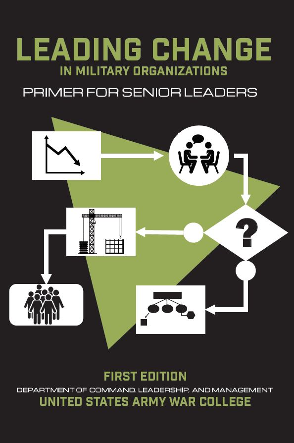 Leading Change In Military Organizations Primer For Senior Leaders