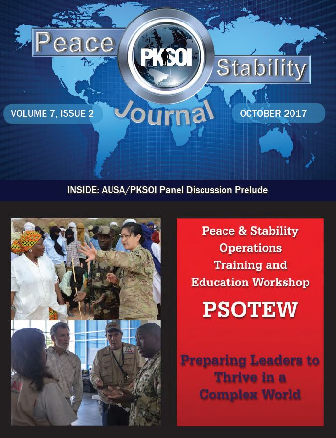 Peace & Stability Journal, Volume 7, Issue 2