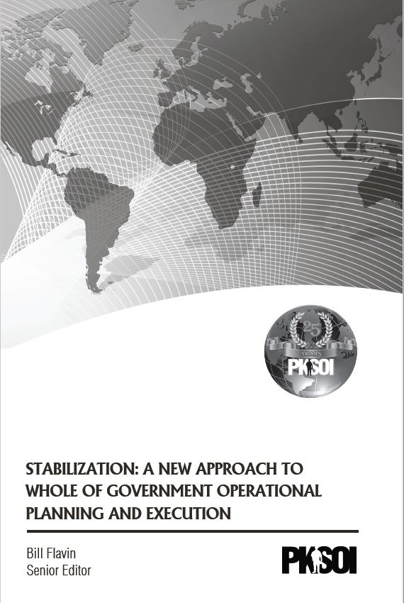 Stabilization: A New Approach to Whole of Government Operational Planning and Execution