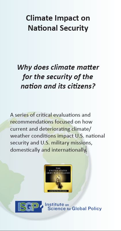 Climate Impact on National Security