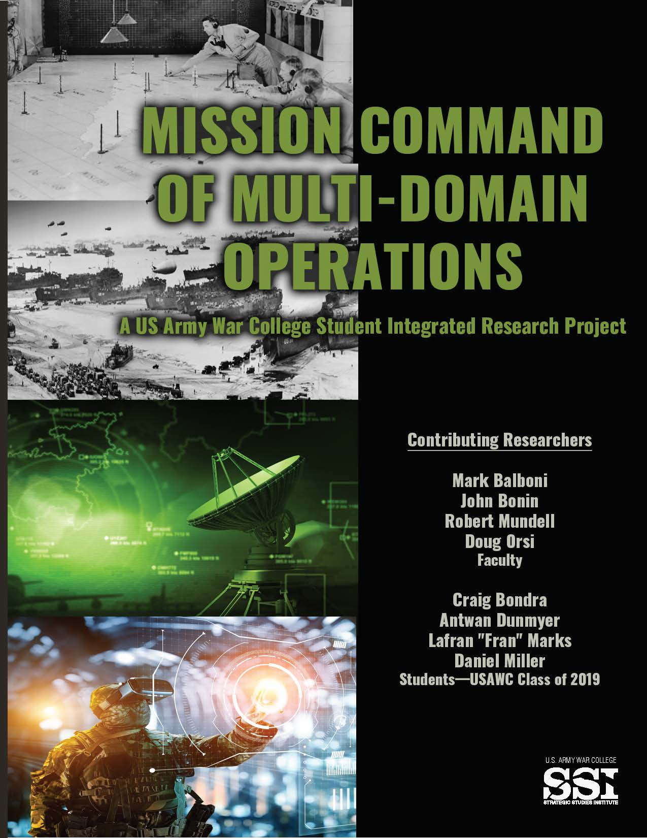 Mission Command of Multi-Domain Operations