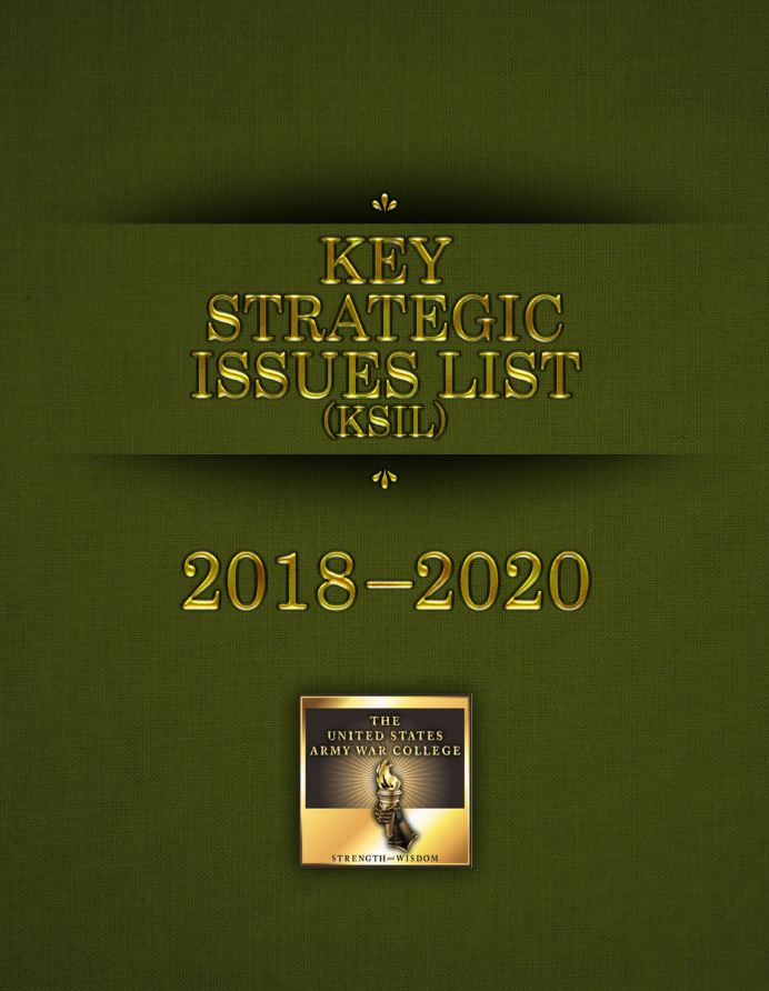 2018 - 2020 Key Strategic Issues List