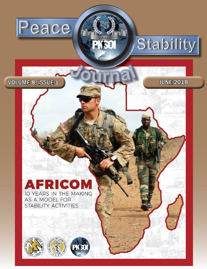Peace & Stability Journal, Volume 8, Issue 1