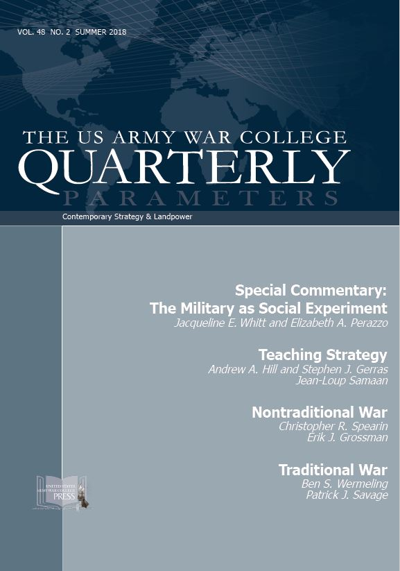 US Army War College Quarterly, Parameters, 48, no  2 (Summer